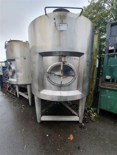 Used 2,000 Litre Stainless Steel Insulated Tanks