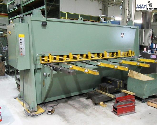 Used Jelsingrad HSL 3012 Hydraulic Shearing Machine