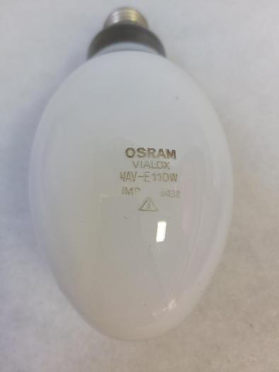 2 Stück Metalldampflampen NAV-E 110W, Osram, E27, neu