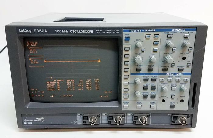 Used LeCroy 9350A Two Channel 500MHz 1.00GS/sec Oscilloscope (4903)
