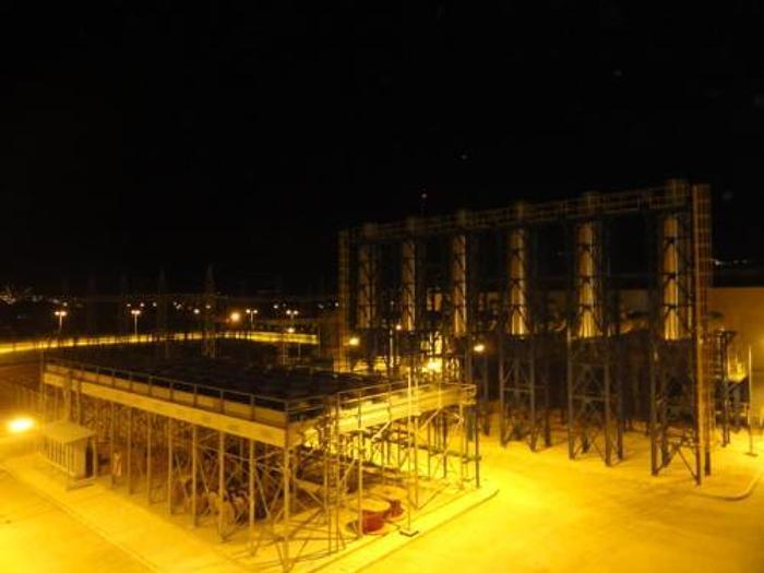 Used 60 MW 2010 Used Wartsila 20V34SG Natural Gas Generator