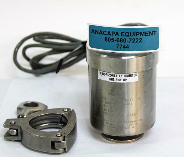 Used Anderson SV071G004G1200 Digtial Pressure Sensor Transmitter 0-100PSIG (7744)W