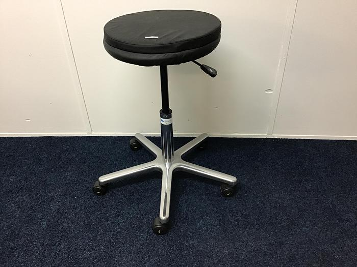 Surgeons Stool Stainless Steel Hydraulic