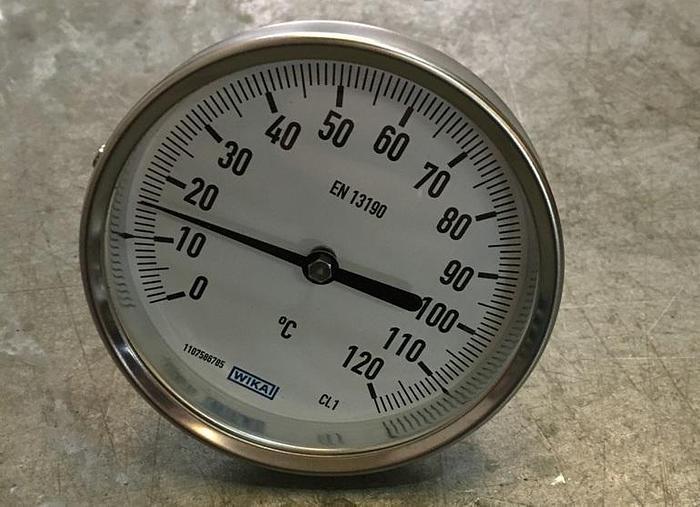 Wika Temperature Gauge 0-120ºC