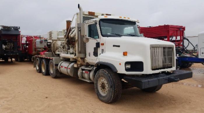 2000 International 5000 Body Load Pump Down Truck