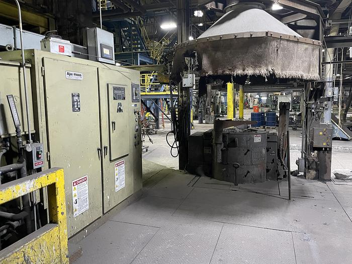 Used 2015 AJAX TOCCO PACER-T HIGH FREQUENCY ELECTRIC MELTING FURNACE