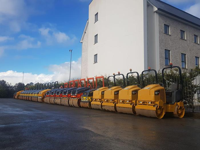 Used Roller SALE Stock lined up