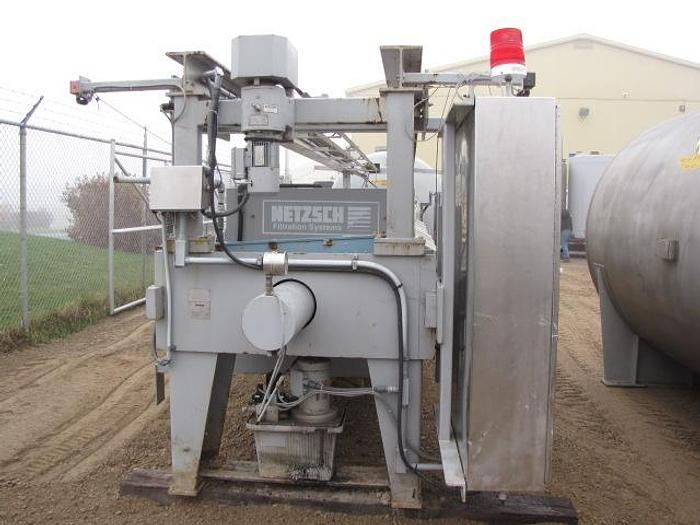 USED FILTER PRESS, RECESSED PLATE, 1200 MM X 1200 MM, POLYPROPYLENE