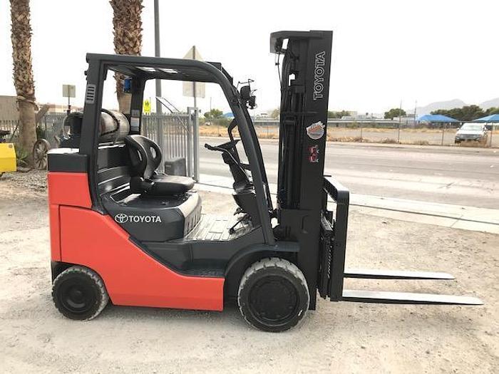 Used 2014 Toyota 8FGC35U-BCS Forklift