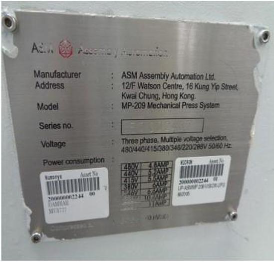 ASM  Pacific MP-209 Trim Tool