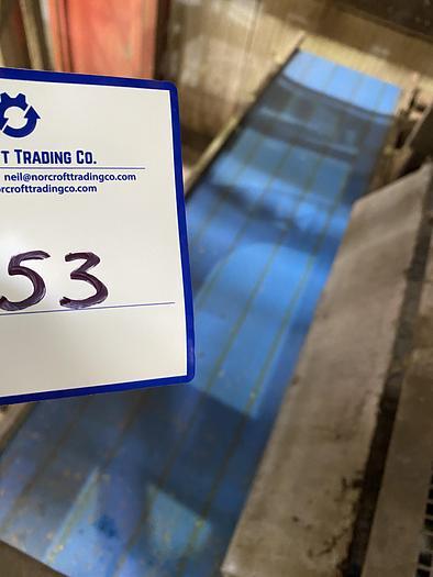 Used Stainless Steel Conveyor Belt 5m L 1m W