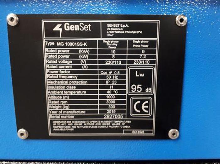 GENSET MG10001 SS-K