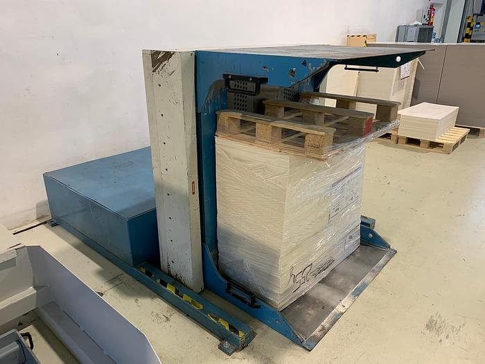 Used Baumann BSW 3-900 pile turner