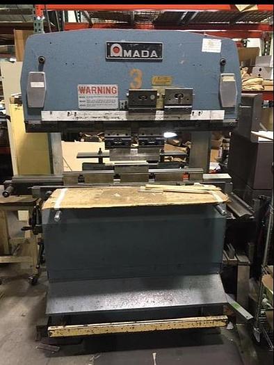Used 1984 27 Ton Amada RG-25 CNC Press Brake