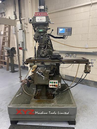 Used 2000 XYZ KRV3000 V Manual Milling Machine