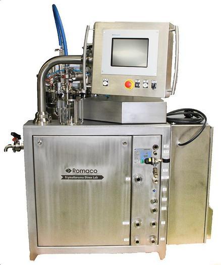 Used Romaco FrymaKoruma Dinex Laboratory Homogenizer Vacuum Processing System 5636