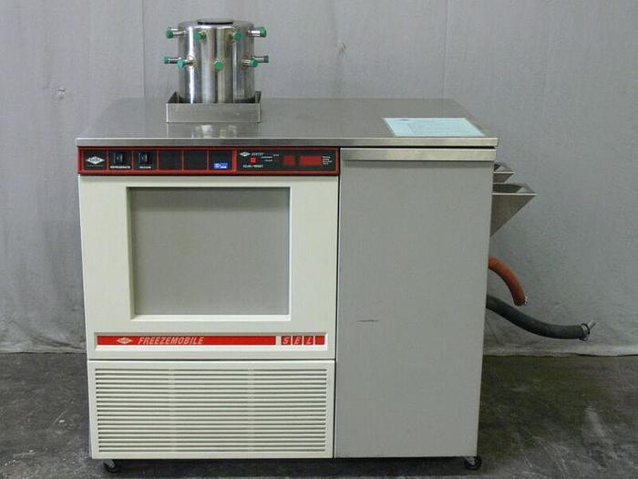 Used Virtis Freezemobile 5EL 285940 Freeze Dryer w/ Sentry Microprocessor