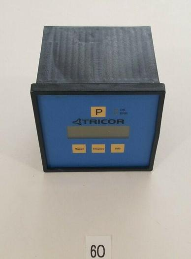 Used *PREOWNED* TRICOR TCE 8011-S-SDSN 4W 24V Mass Flow Meter Sensor TCM 28K-65K