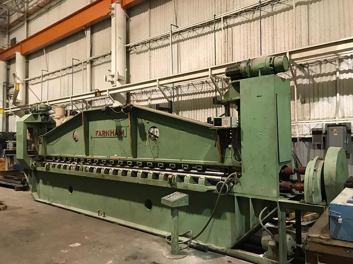 20' Farnham Roll Forming Machine
