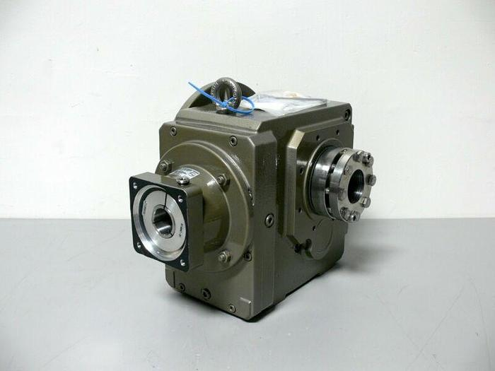 Used Stober 57.5:1 ServoFit Percision Gearhead Right Angle Gear Box Reducer