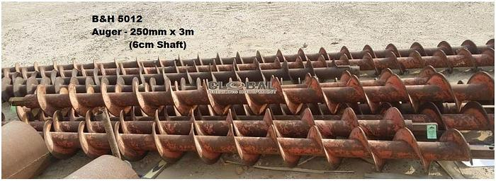 "Used Item 5012 : 10""(250mm) Auger"