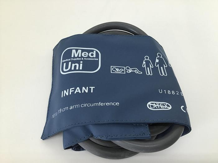 Unimed Blood Pressure Cuff double tube 10-19cm Infant