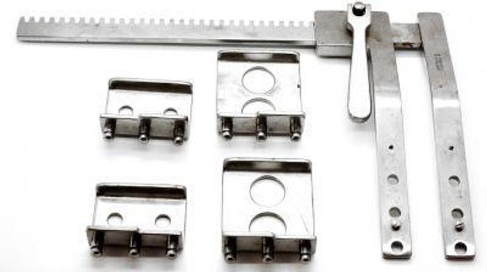 Spreader Rib Set Finochietto with 2 sets of 2 Blades