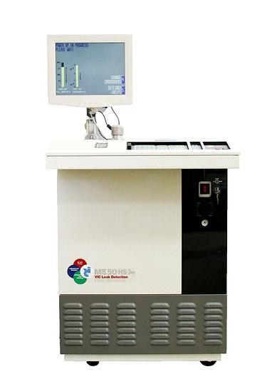 Used VIC MS-50 MS50DHS Dry High Sensitivity Helium Leak Detector Refurbished (7105)