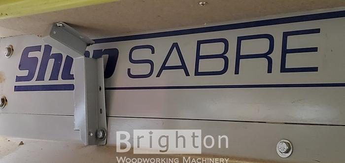 2010 Shop Sabre 4896 flat/nesting table CNC