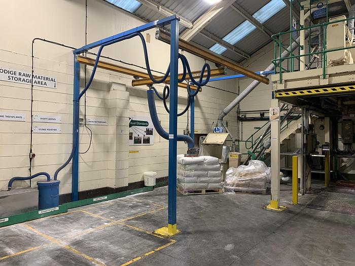 Used PALAMATIC   Vacuum Sack Lifter