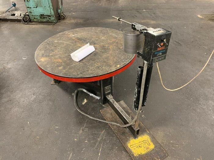 """Used Durant 5025 48 Pallet Decoiler W/DC Motor Speed Control 48"""" 220V"""