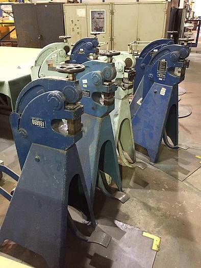 Used Marchant 6FG Shrinker Stretcher with tooling