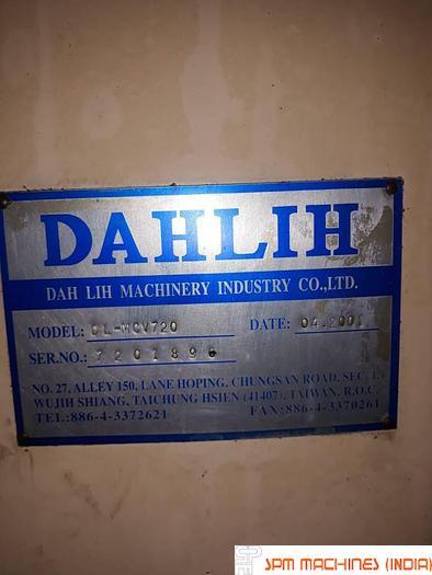 Dahlih  MCV720 VMC -2001