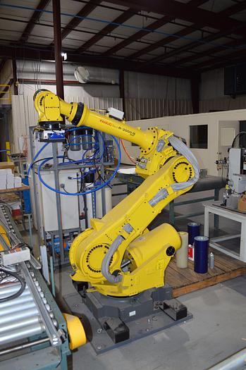 Used FANUC R-2000iB/165F WITH R-J3iC CONTROLS, TEACH PENDANT & CABLES