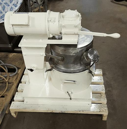 Used 4 GALLON ROSS DOUBLE PLANETARY MIXER – S/S WITH TEFLON LINING – VACUUM – JACKETED #8452