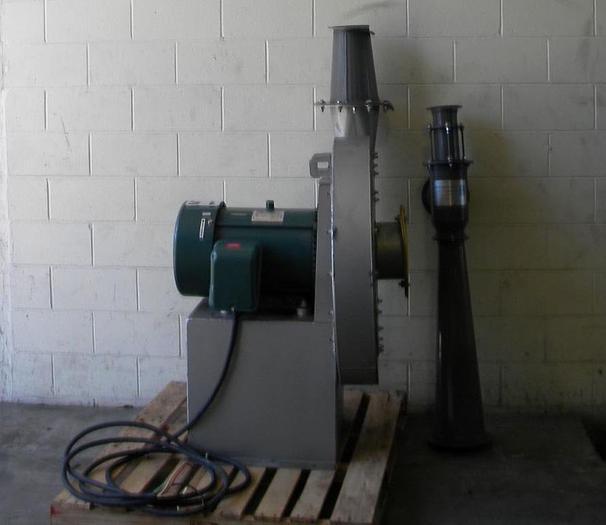 Used CINCINNATI FAN MDL HP8E26 TRIM BLOWER 25HP WITH VENTURI