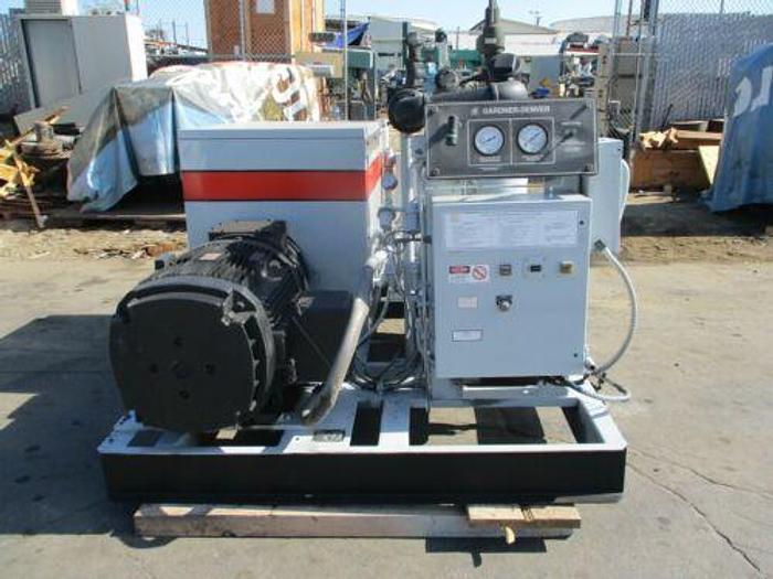 Used Gardner Denver 150 HP Rotary Screw Air Compressor 100 PSI