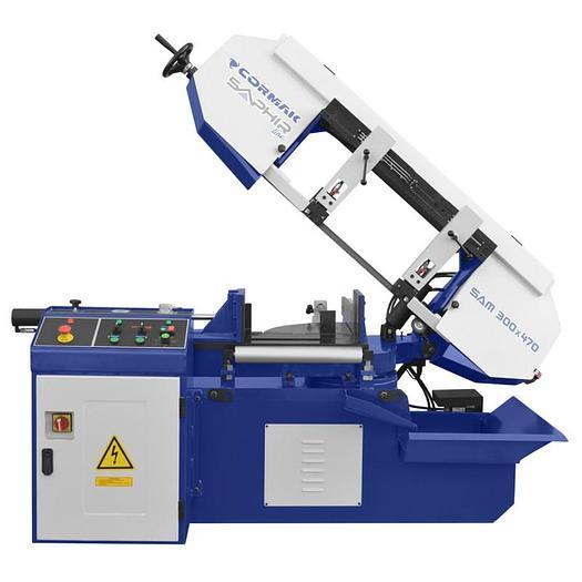 Cormak SAM 340 x 470 Saphir Line Semi-Automatic Bandsaw