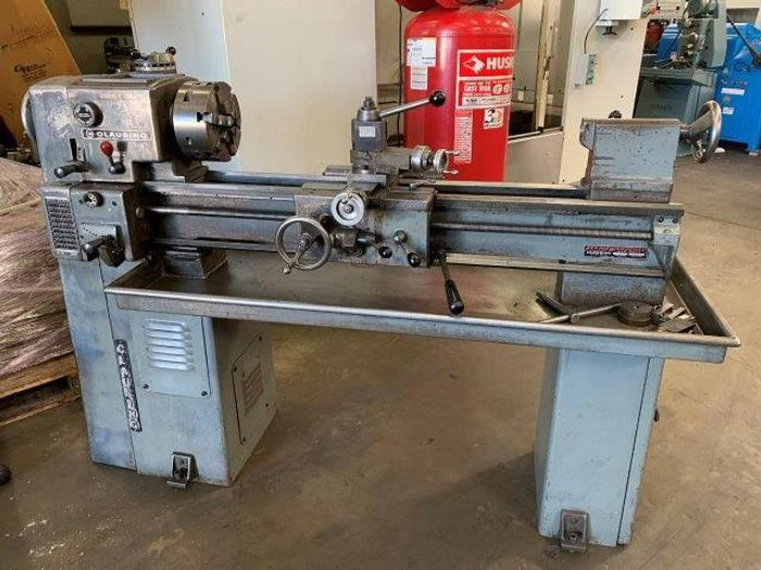 """Used 12"""" x 36"""" cc, CLAUSING, MODEL 5914, 52-2000 RPM, 7"""" SWING OVER CROSS SLIDE [5426]"""