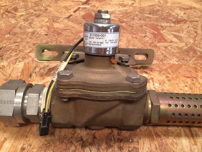 Used Capstone Turbine Dump Valve for C60 Microturbine (P/N 511005-001)