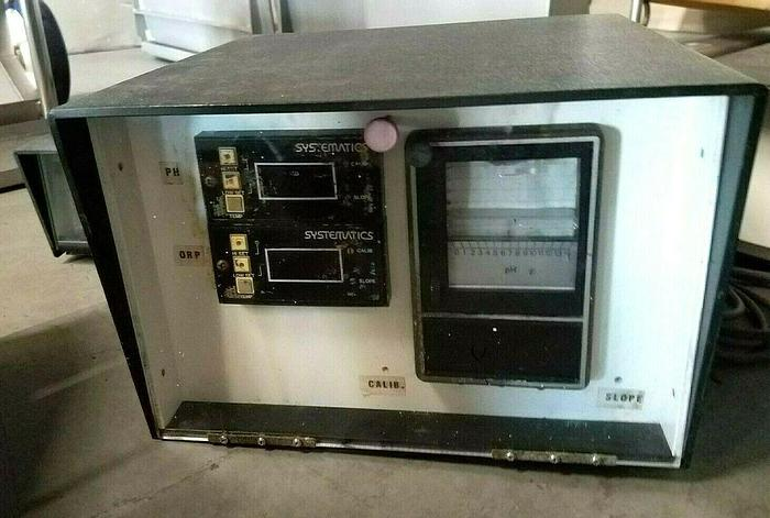 Used Systematics pH chemical control monitor Waste Water plating solutions