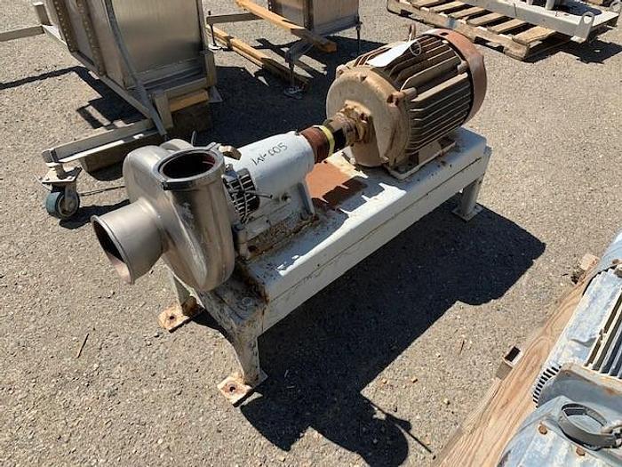 "Used Tri-Clover 3"" x 6"" Centrifugal Pump"