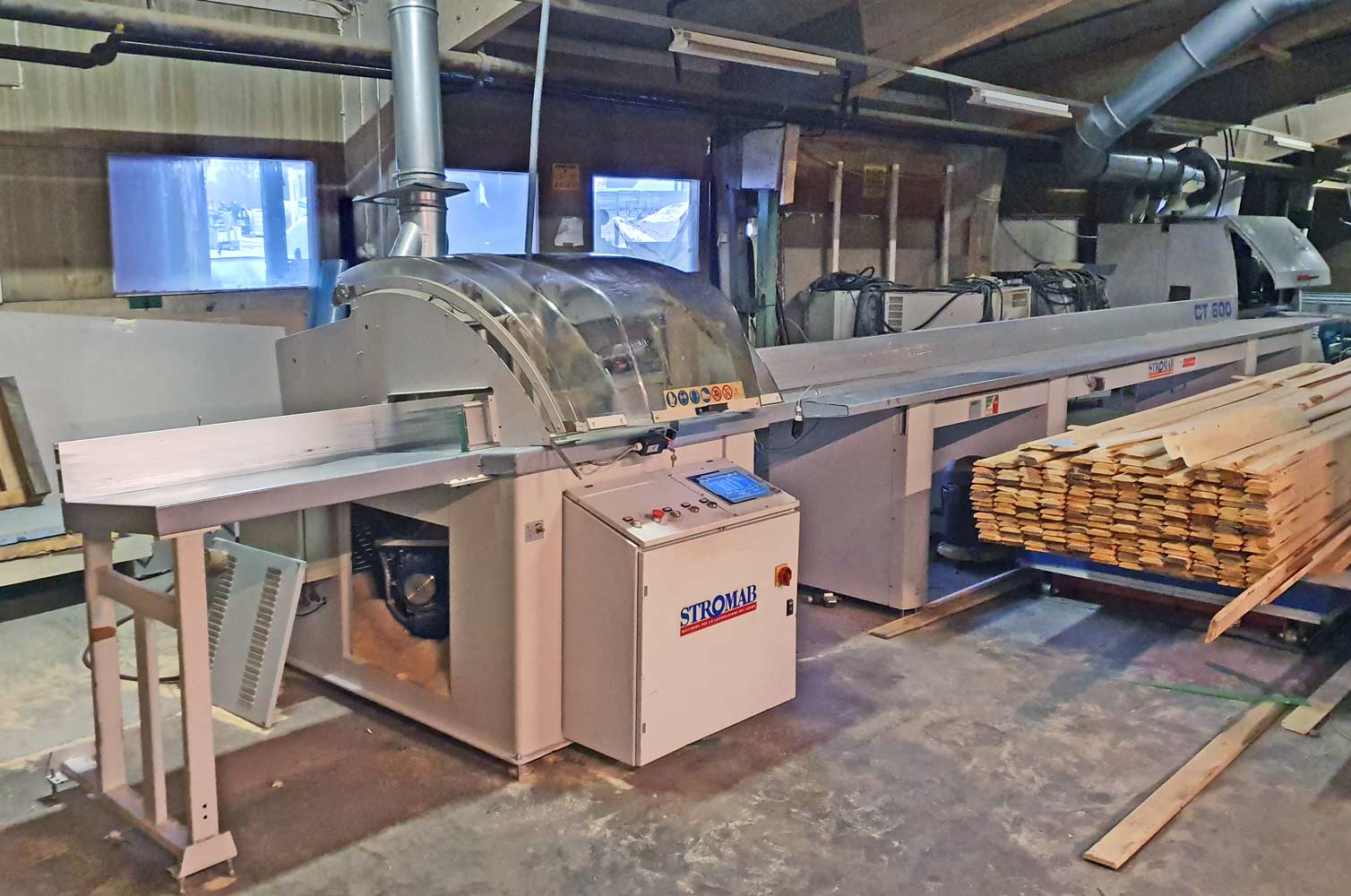 2007 STROMAB Italy STROMAB CT 600 optimizing  crosscut saw