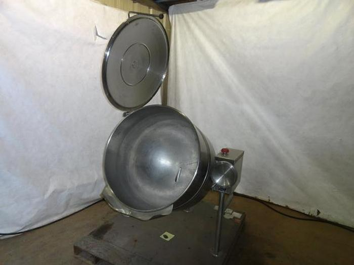 Used Cleveland Range Tilting Steam Kettle; Md#KDL-80T