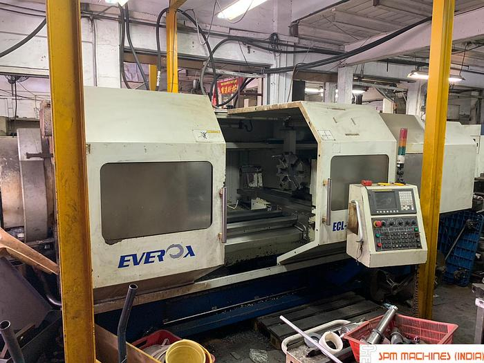 Used EVEROX ECL 1000 X 2200 Big Bore CNC Turning (Fanuc Oitd) - 2009