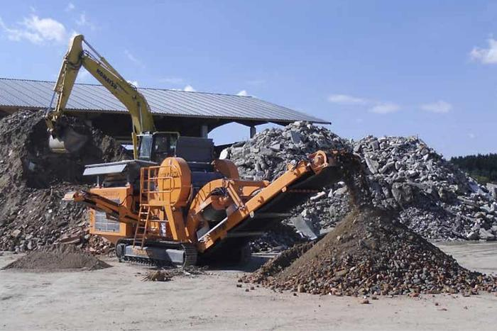 Used ROCKSTER Aggregate Processing Equipment