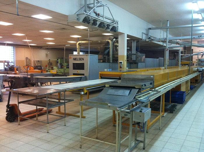 Used NIELSEN M680 CHOCOLATE MOULDING LINE