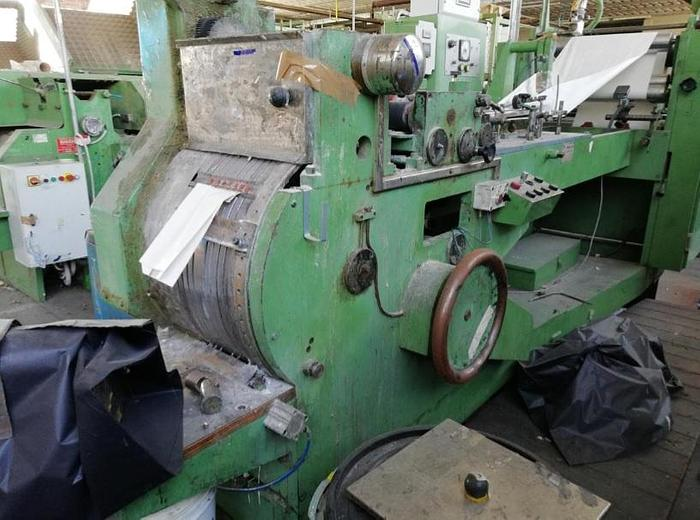PROFAMA ROTOSAC 560 flat & satchel paper bag makign machine