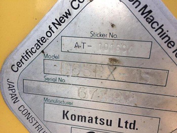 2005 KOMATSU D65PX-15