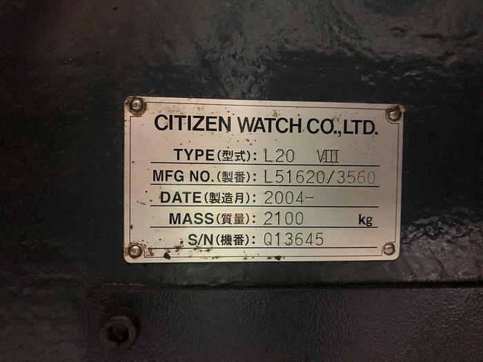 2004 Citizen L20 VIII